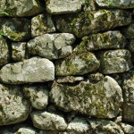 Facade of a stone wall