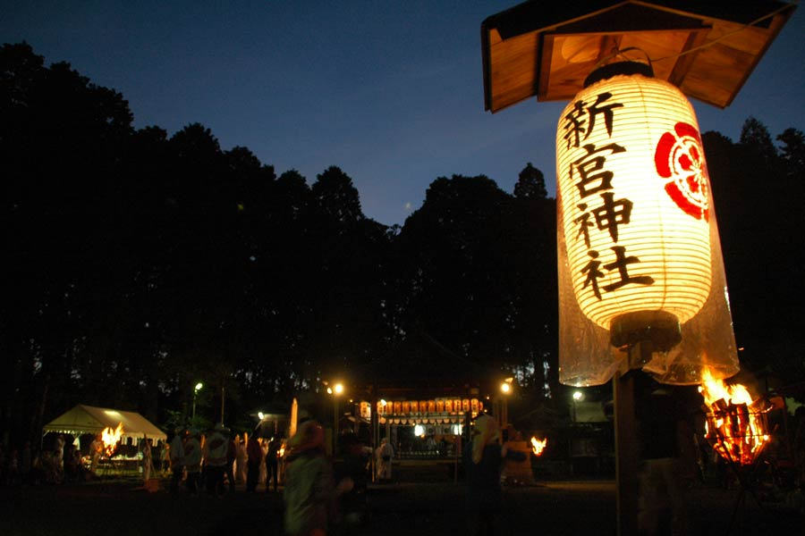 Shingu Shrine before the festival
